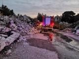 Kolejny pożar na terenie byłej Fabryki Opakowań Blaszanych