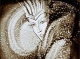 """Kwidzyn. """"Królowa Śniegu"""" piaskiem malowana. Kwidzyńskie Centrum Kultury zaprasza na bezpłatny spektakl online"""