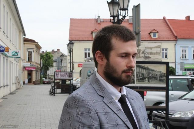 Sebastian Kościelnik kierowca seicento