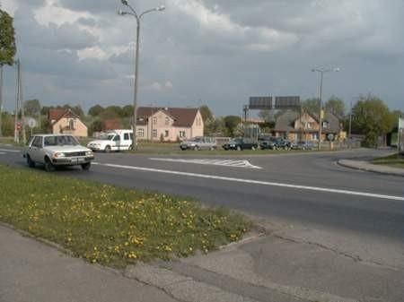 Skrzyżowanie ul. Gdańskiej z Tucholską wreszcie doczeka się modernizacji. Fot. Monika Smól