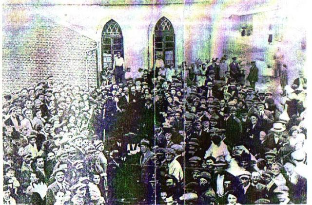 Otwarcie radziejowskiej synagogi w 1938 roku