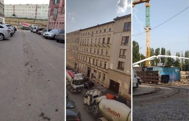 Ulica Sławomira w Szczecinie dostaje rykoszetem przez budowę