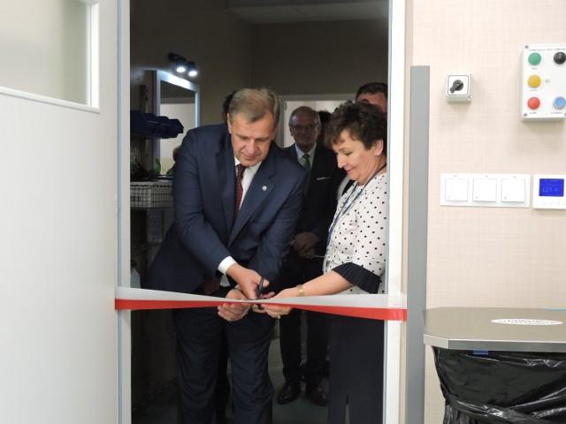 Otwarcie sterylizatorni w szpitalu w Bielsku Podlaskim