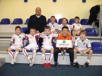 Młodzi chłopcy z Herkulesa Kochanowice wywalczyli piąte miejsce w Katowicach