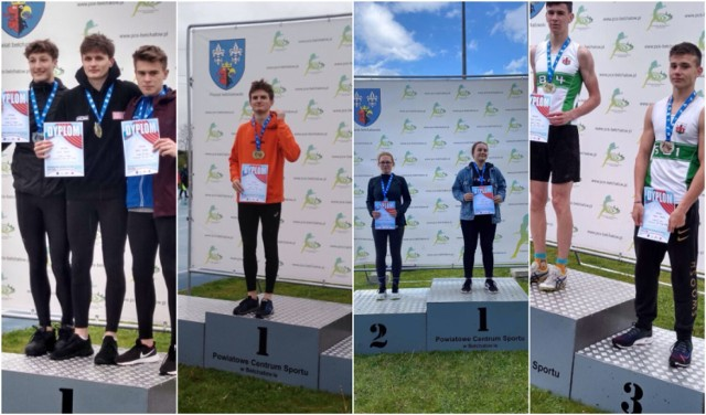 Dwanaście medali zdobyli zawodnicy MKLA Łęczyca na Mistrzostwach Województwa U-18 i U-20 w Bełchatowie.