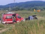 Ujazd. Dwaj strażacy ranni podczas ćwiczeń OSP, jednego zabrał śmigłowiec LPR