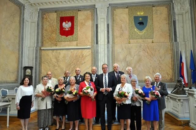 Siedem par małżeńskich z Przemyśla świętowało jubileusz 50-lecia wspólnego pożycia.
