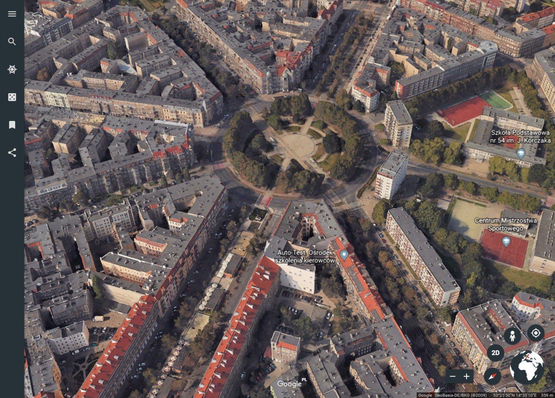 Szczecin Rowniez W 3d W Google Maps I Wyglada Swietnie