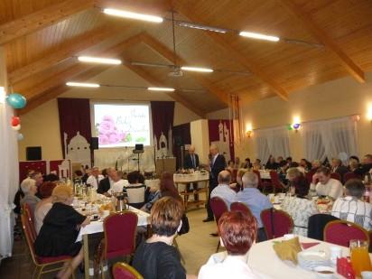 Spotkanie wigilijne dla osb niepenosprawnych, starszych i