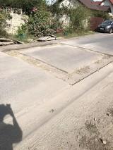 Uwaga mieszkańcy! Niebezpieczne dziury w asfalcie na ul. Chrobrego w Sycowie