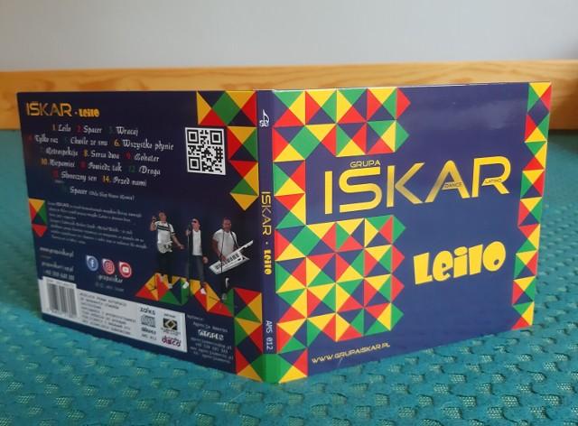 Okładka nowe płyty zespołu Iskar