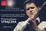 Gitarzysta Przemysław Strączek zagra dla hospicjum w Żorach