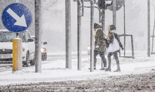 16.01.2018  bydgoszcz zima snieg pogoda  fot.dariusz bloch/polska press