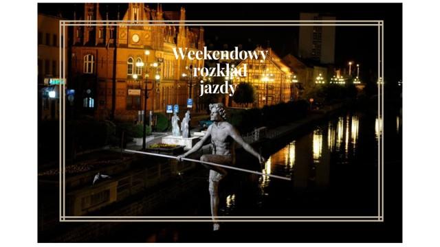 Przed nami weekend pełen wydarzeń, dlatego przygotowaliśmy dla was listę imprez, które odbędą się w Bydgoszczy. Zapowiada się weekend pełen wrażeń, podczas którego każdy znajdzie coś dla siebie. Sprawdźcie, co w najbliższy weekend wydarzy się w Bydgoszczy!   Flesz - takie są obecnie ceny pali w naszym kraju.