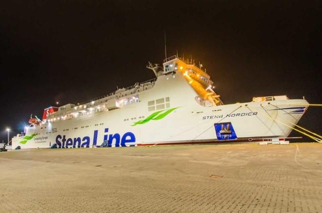 Prom Stena Nordica już pływa z Gdyni do Karlskrony.