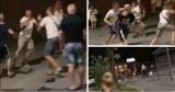 Brutalna bójka w centrum Blachowni. Uczestniczyli w niej obywatele Ukrainy i Polski. Poleciały wyzwiska, w ruch poszły pięści.