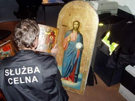 Wywóz z Polski zabytkowych ikon jest zabroniony. arc