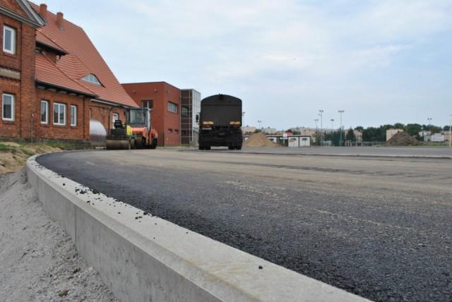 Stadion Miejski w Międzychodzie przechodzi metamorfozę. Kolejnym etapem budowy jest profesjonalna bieżnia tartanowa.