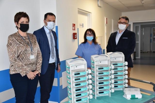 Pompy infuzyjne oraz stacje dokujące od Społem PSS dla szpitala w Bochni