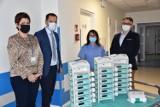 Bochnia. Szpital dostał sprzęt medyczny od lokalnej spółdzielni Społem PSS [ZDJĘCIA]