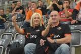 Jastrzębski Węgiel - Stal Nysa 3:0 - zobacz ZDJĘCIA kibiców. Fani jastrzębian pierwszy raz zobaczyli mistrza w domowym meczu