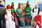Nowy Staw. Mikołaj z NCKiB dotarł do dzieci z Zespołu Szkolno-Przedszkolnego i kilku świetlic wiejskich