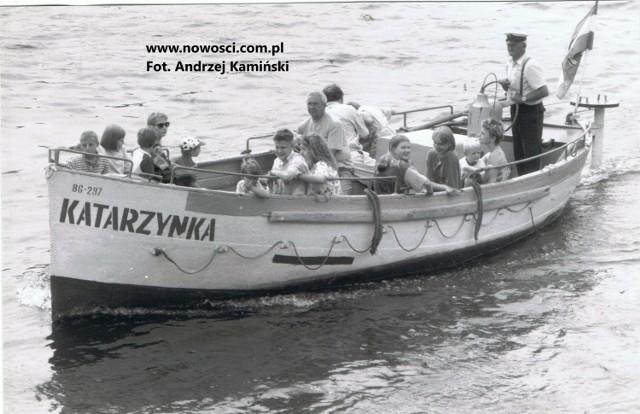 """Pierwsza """"Katarzynka"""" pływała pod banderą PTTK."""
