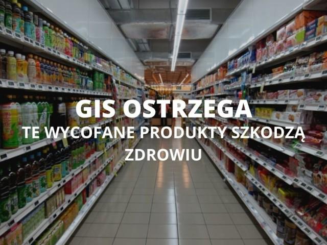 Popularne produkty wycofane ze sklepów NAJNOWSZA LISTA. GIS wycofuje kolejne produkty.