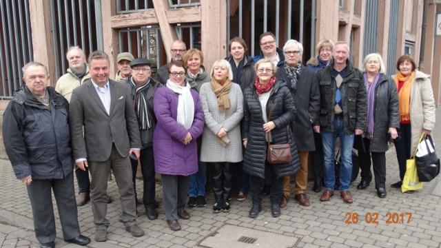 Gościli w Niemczech: Renata Gruźlewska, Lidia Piesik, Krystyna Steczeń, Roman Marks, Henryk Polasik, Tadeusz i Krystyna Krause