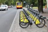 Łódź. Na razie w centrum miasta uruchomiono 30 stacji z 300 rowerami. Docelowo będzie 150 stacji i 1,5 tysiąca rowerów