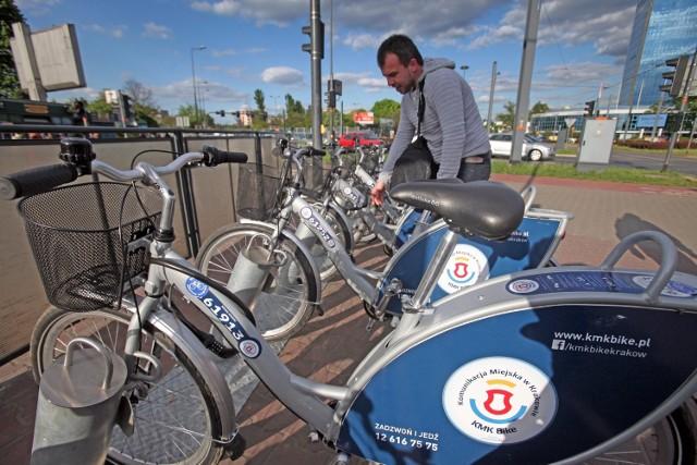 System rowerów miejskich KMK Bike kończy udany sezon