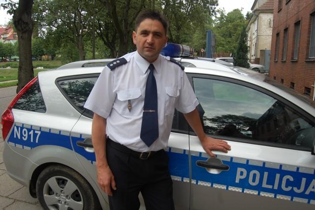 Komisarz Andrzej Hasulak wciąż jest bardziej policjantem z powołania, a nie policyjnym urzędnikiem