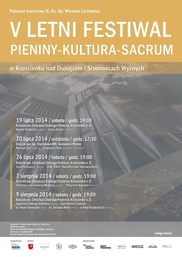 "5. Letni Festiwal ""Pieniny - Kultura - Sacrum"""