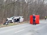 Wypadek na ul. Sianokosy. Samochód uderzył w drzewo! Jedna osoba nie żyje ZDJĘCIA