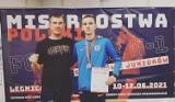 Kacper Śleszyński wicemistrzem Polski K1 juniorów w kickboxingu