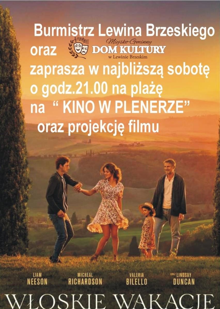 Kino w plenerze - Lewin BrzeskiBurmistrz Lewina Brzeskiego...
