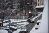 W Śląskiem sypnęło śniegiem. Kierowcy powinni zachować szczególną ostrożność! ZDJĘCIA