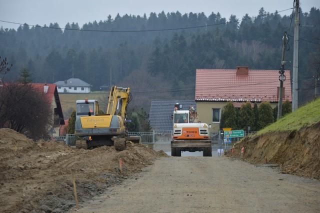 Przebudowa ulicy Armii Krajowej w Bochni, po wybudowaniu brakującego odcinka obwodnicy północno-zachodniej będzie ona stanowiła część tej drogi