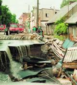 Powódź w Gdańsku 2001. 17 rocznica wielkiej powodzi w Gdańsku - 9 lipca 2001 r.
