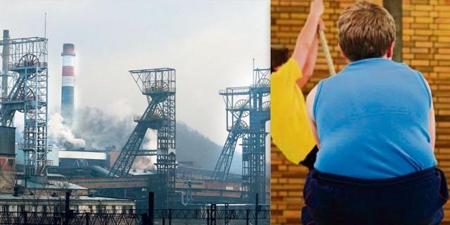 Gruba  Polskie skojarzenie: gruba Po śląsku znaczy: kopalnia