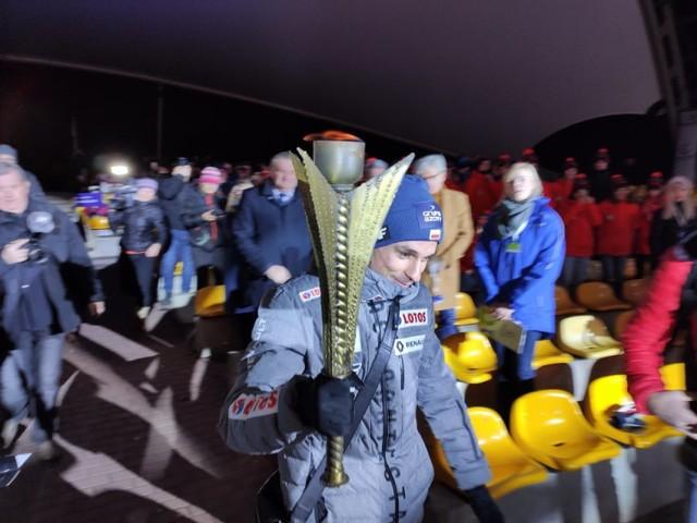 Inauguracja młodzieżowej olimpiady w Wiśle