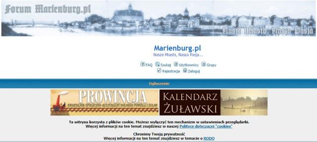 Malbork 12 Lat Temu Wystartowalo Forum Marienburg Pl Prezentujace Blaski I Cienie Wspolczesnego I Historycznego Miasta Malbork Nasze Miasto