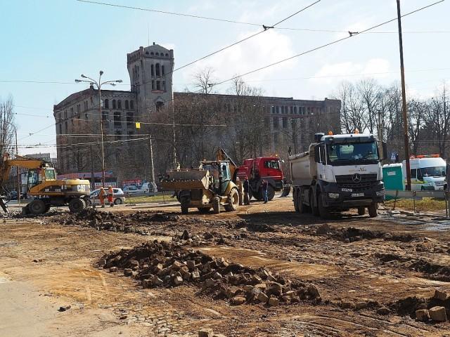 Prace mają zostać ukończone do 19 kwietnia.