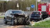Wypadek w Zabrzu na Chudowskiej. Ranne dziecko i kobieta
