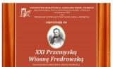 Jutro startuje XXI Przemyska Wiosna Fredrowska. Do 3 lipca sporo ciekawych wydarzeń kulturalnych [PROGRAM]