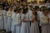 Pierwsza Komunia Święta w bazylice św. Wojciecha w Mikołowie