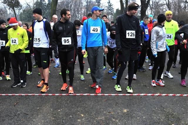 Bieg Noworoczny, Park Skaryszewski. Zdjęcia z zawodów