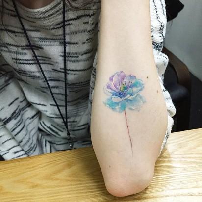 Uderzający Minimalizm Zobacz Niesamowite Tatuaże Koreańskiego
