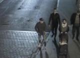 Policjanci z Bydgoszczy szukają osób, które uchwycił monitoring. To w związku z pobiciem. Rozpoznajesz tych ludzi?