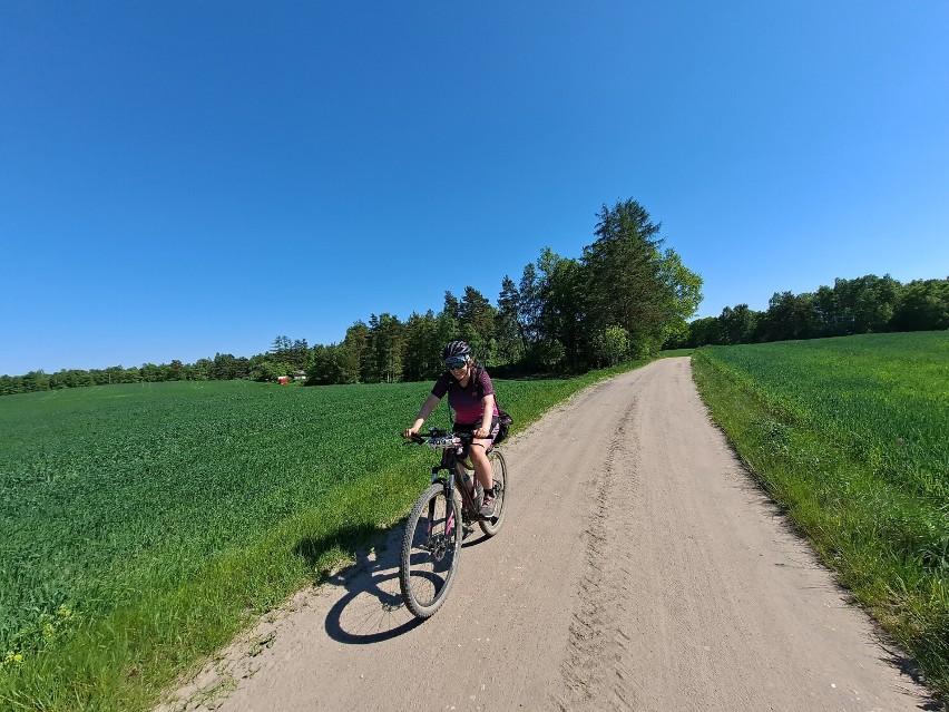 """Przez """"Piekło Północy"""" na rowerze z udziałem pań z naszego powiatu"""
